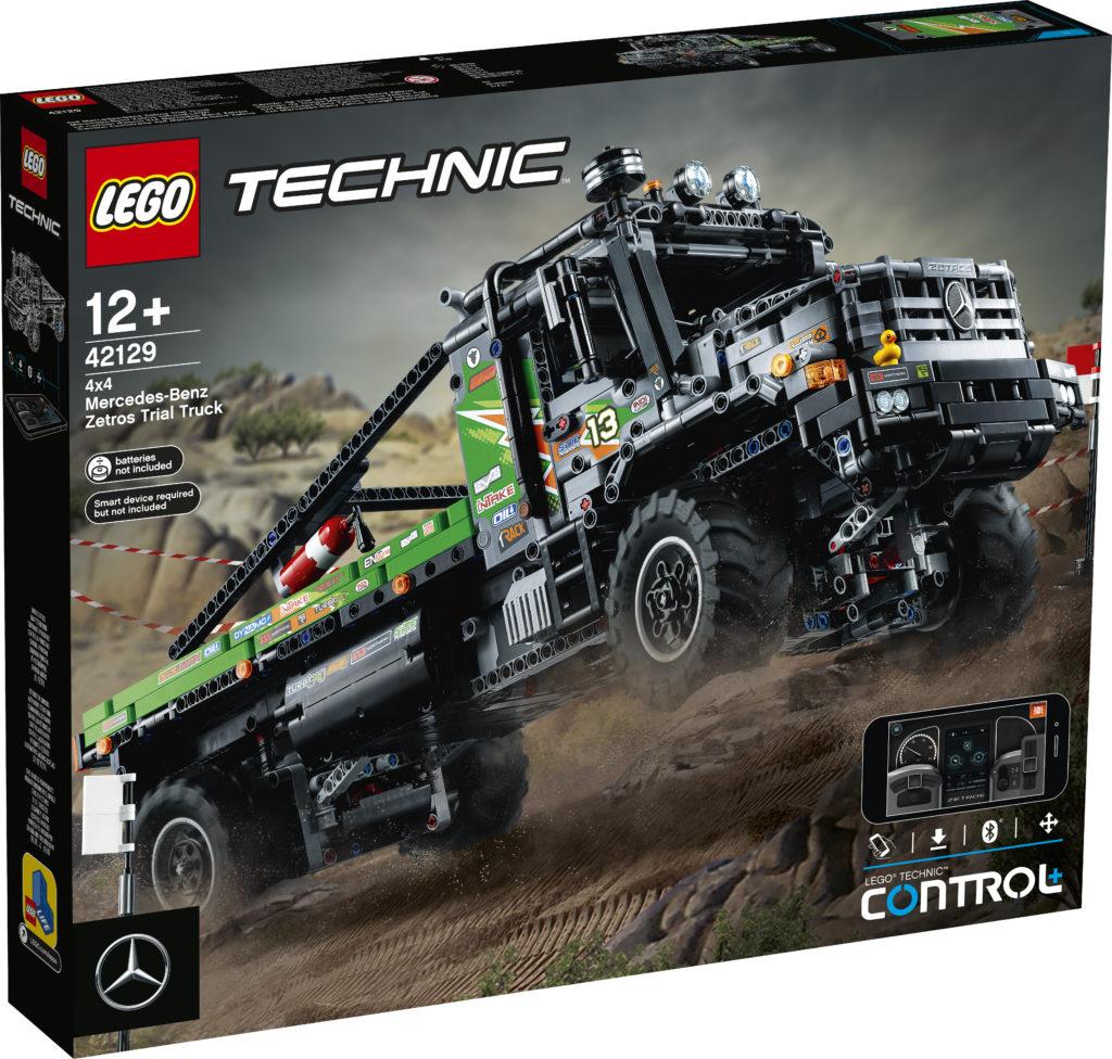 LEGO Technic 42129 4x4 Mercedes Benz Zetros Trial Truck 1