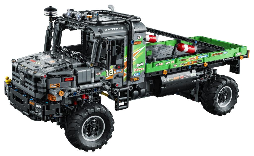 LEGO Technic 42129 4x4 Mercedes Benz Zetros Trial Truck 3