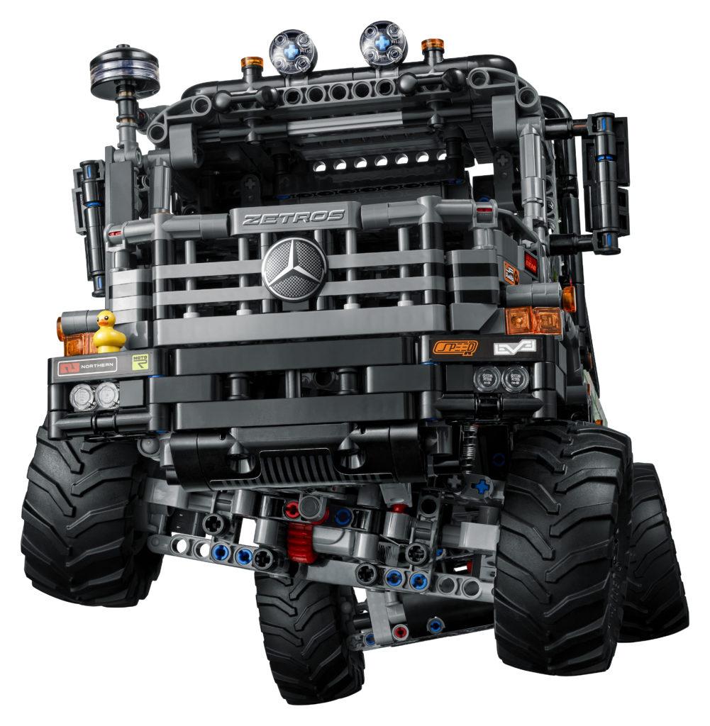LEGO Technic 42129 4x4 Mercedes Benz Zetros Trial Truck 6