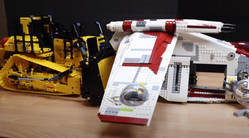 LEGO Technic 42131 CAT D11T Bulldozer first look featured