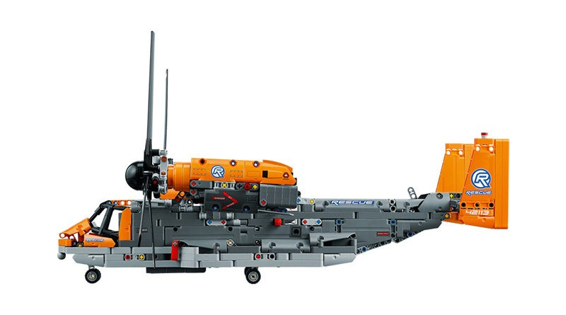Design flaw did not influence LEGO Technic 42113 Bell Boeing V-22 Osprey Helicopter decision