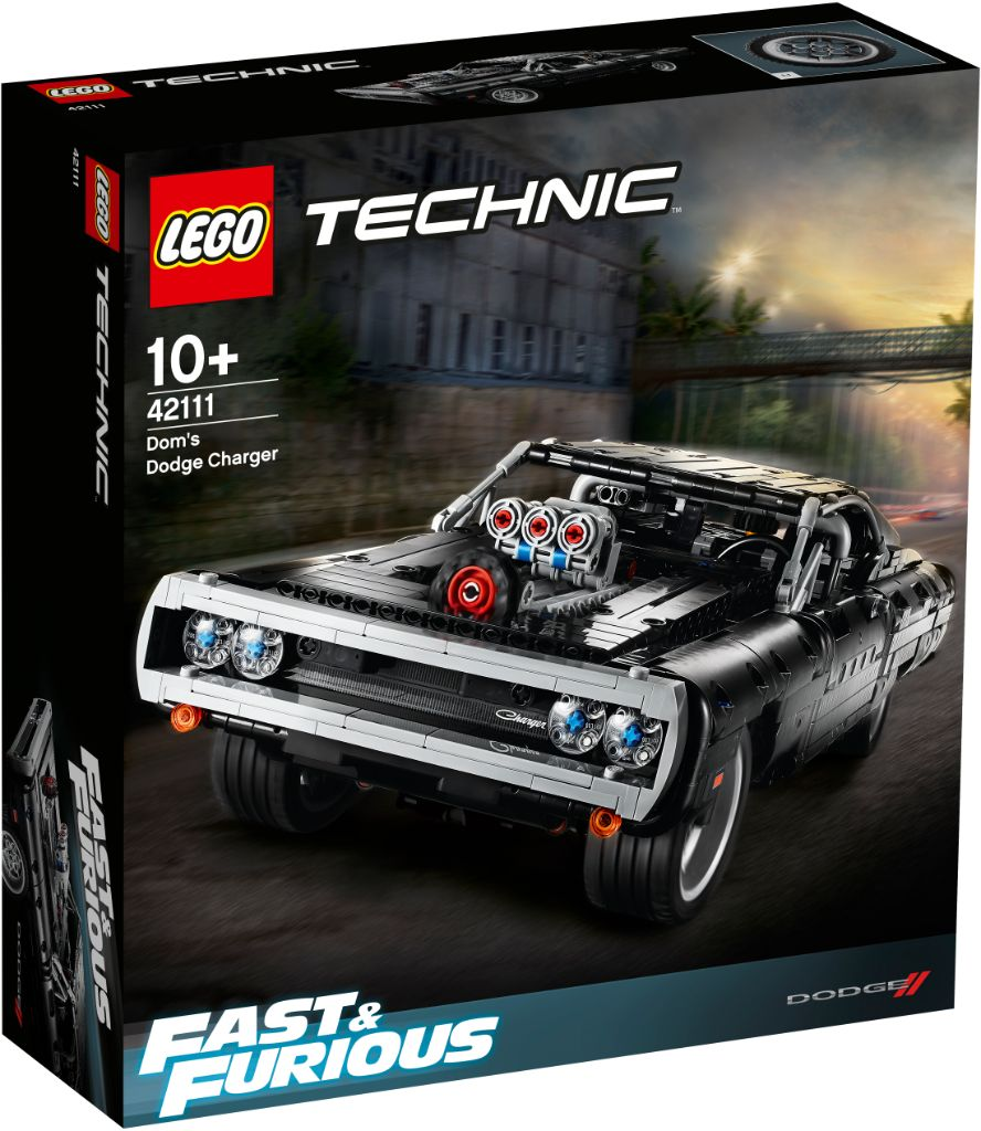 LEGO Technic Fast Furious 42111 Doms Dodge Charger 11