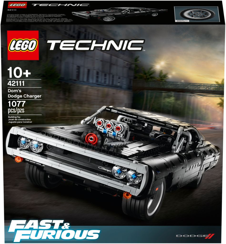 LEGO Technic Fast Furious 42111 Doms Dodge Charger 18