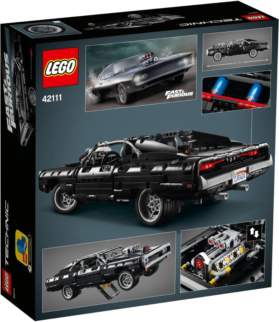 LEGO Technic Fast Furious 42111 Doms Dodge Charger 19