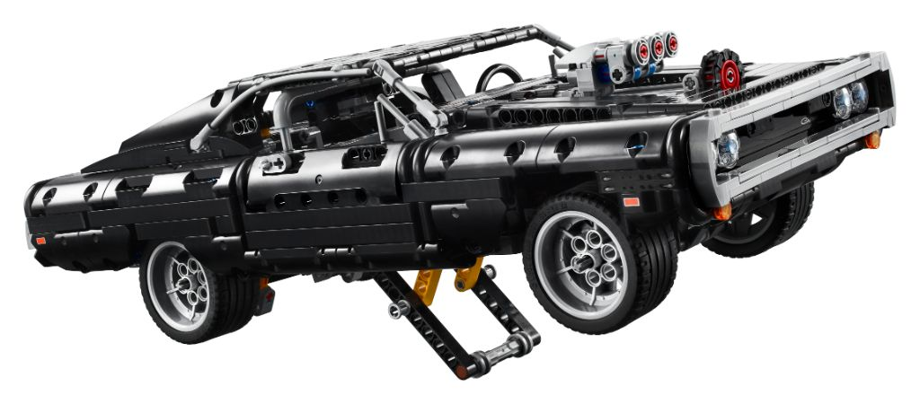 LEGO Technic Fast Furious 42111 Doms Dodge Charger 2