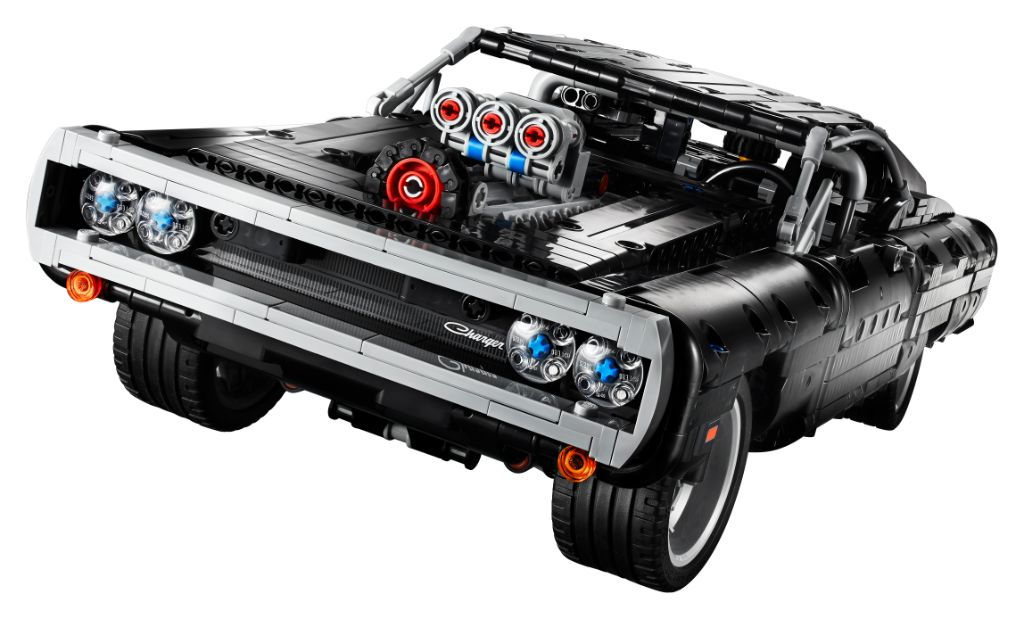 LEGO Technic Fast Furious 42111 Doms Dodge Charger 23