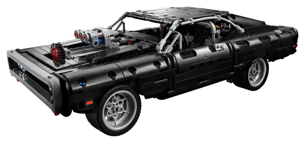 LEGO Technic Fast Furious 42111 Doms Dodge Charger 24