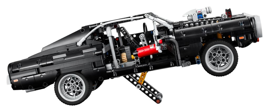 LEGO Technic Fast Furious 42111 Doms Dodge Charger 6