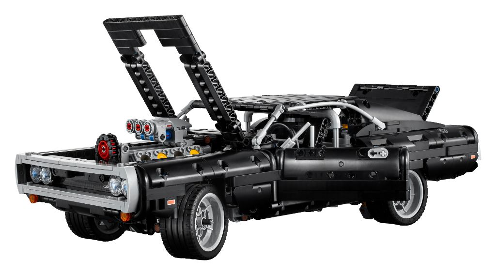 LEGO Technic Fast Furious 42111 Doms Dodge Charger 7