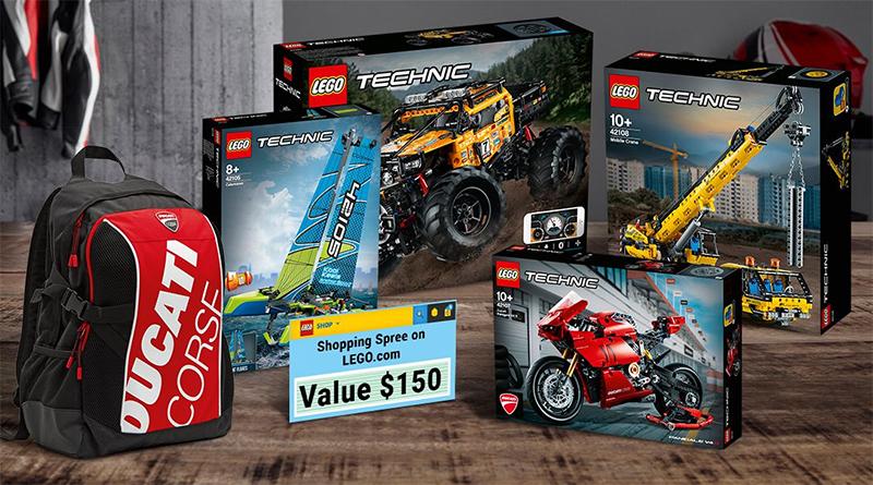 LEGO Technic Ideas Prize Featured