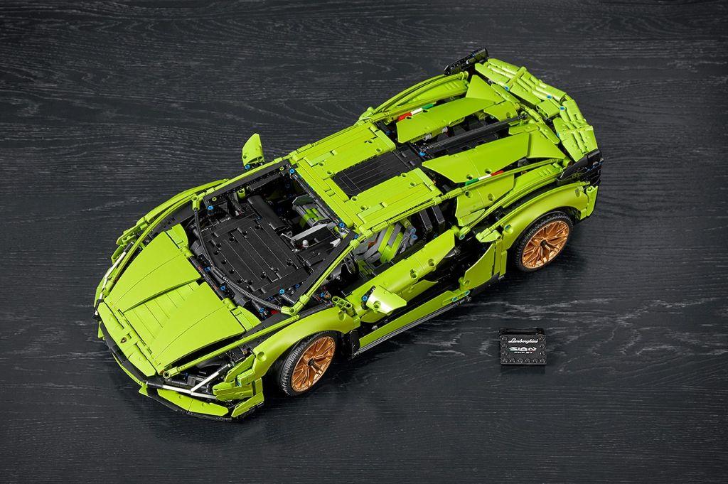 LEGO Technic Lamborghini Sián FKP 37 16