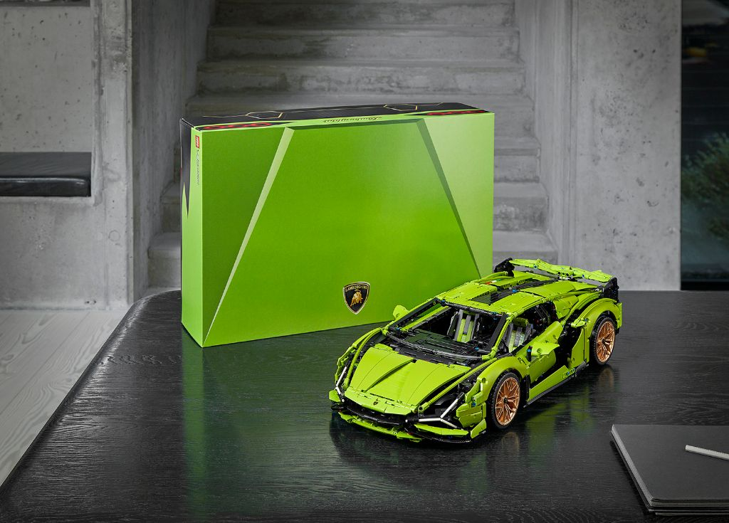 LEGO Technic Lamborghini Sián FKP 37 18
