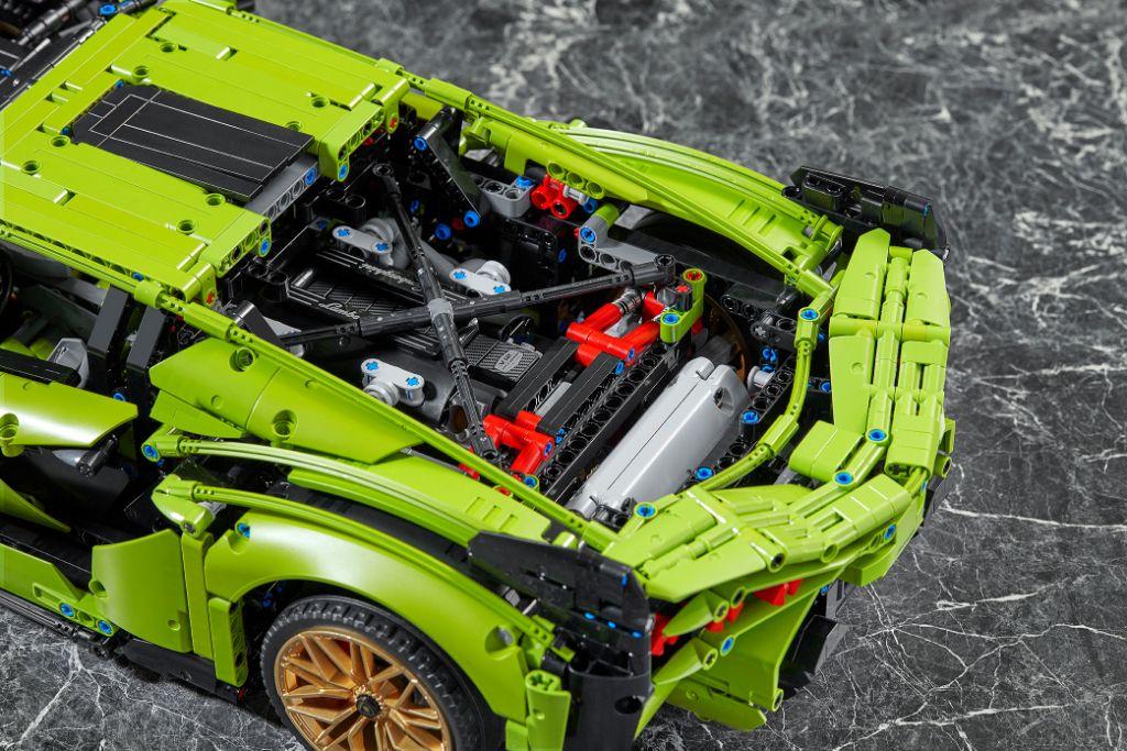 LEGO Technic Lamborghini Sián FKP 37 20