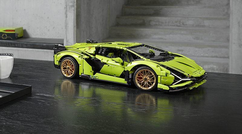 LEGO Technic Lamborghini Sián FKP 37 featured