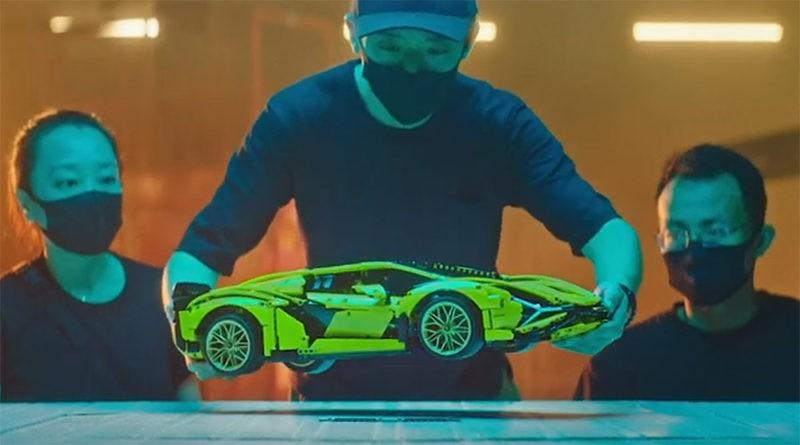 LEGO Technic Lamborghini Bts Featured 800x445