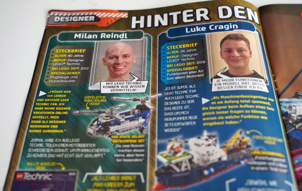 LEGO Technic Magazine Issue 1 4