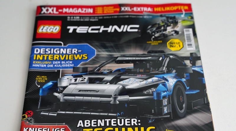 LEGO Technic Magazine Issue 1 Featured