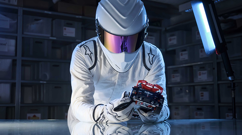 The Stig with LEGO