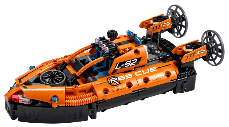 LEGO Technic Hovercraft Featured