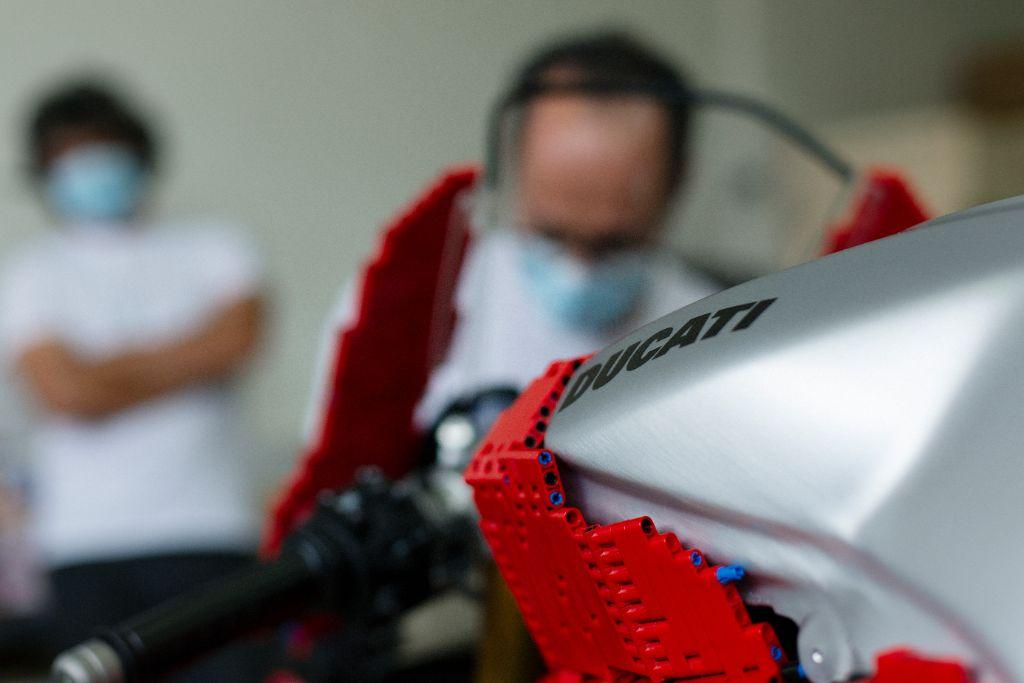 LEGO Technic Life Size Ducati 3