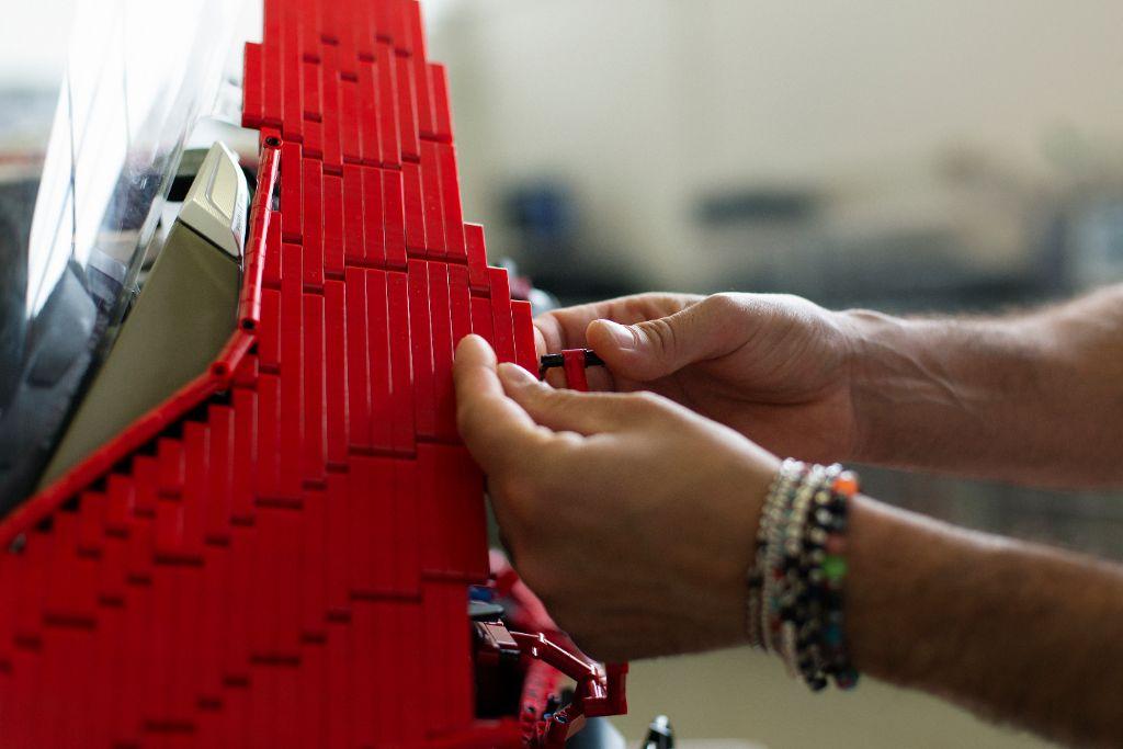 LEGO Technic Life Size Ducati 4