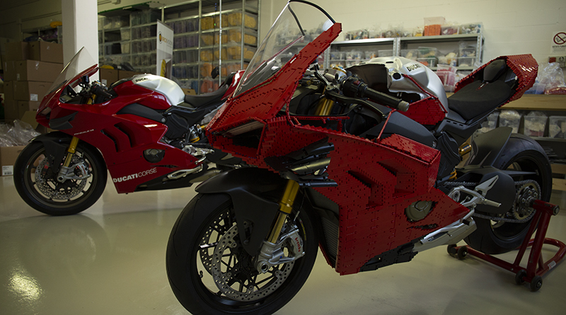 LEGO Technic Life Size Ducati Featured