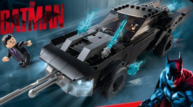 Lego The Batman 76181 Batmobile The Penguin Chase သေတ္တာ art အထူးပြုလုပ်ထားသော