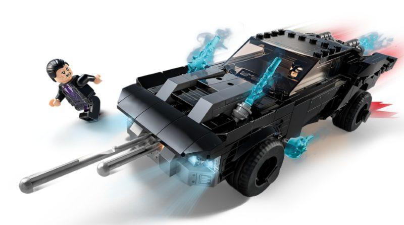 Lego The Batman 76181 Batmobile The Penguin Chase သည်ပုံသေသတ်မှတ်ထားသည်