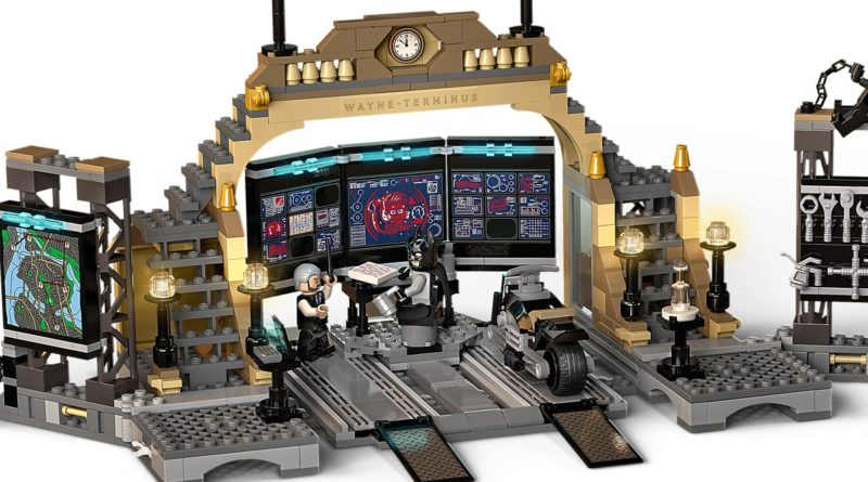 LEGO The Batman Batcave The Riddler Face off action shot 2 featured