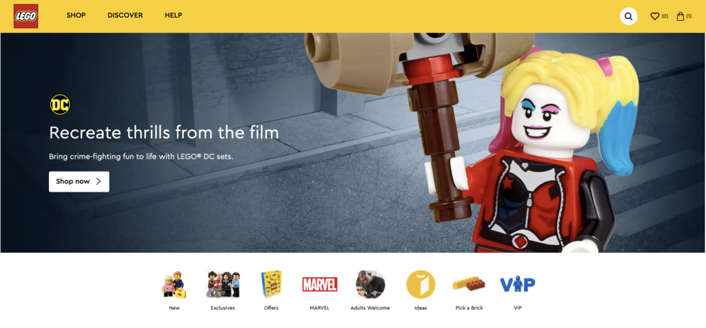 LEGO The Suicide Squad online ad