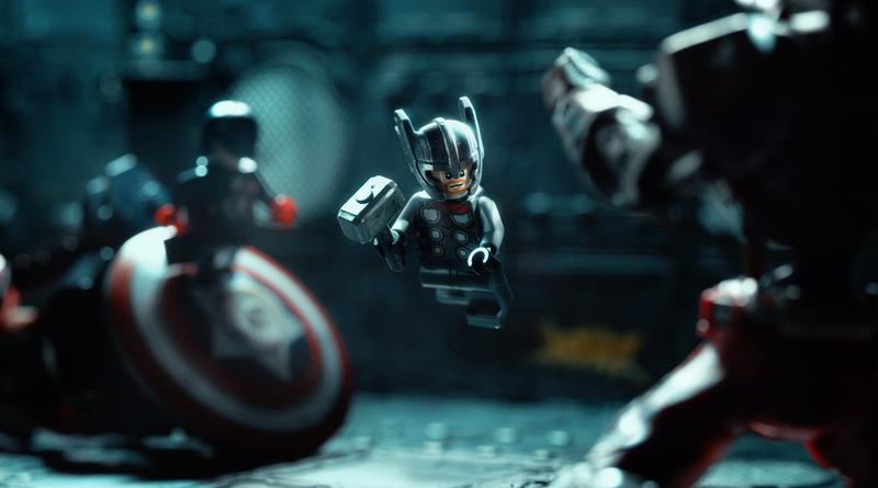 LEGO Thor Fight RS