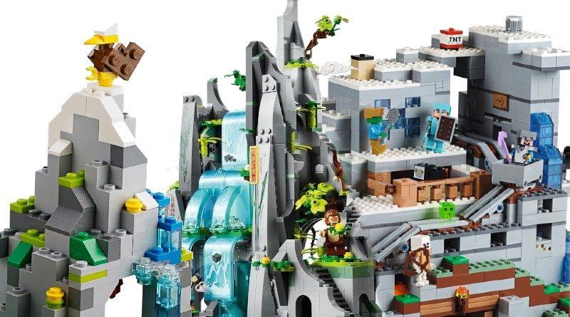 LEGO Three peak challenge mountain featured