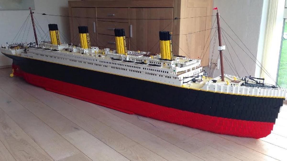 LEGO Titanic Fan Made Model Resized Featured