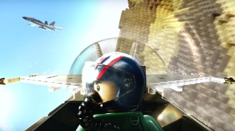 LEGO Top Gun Maverick Trailer Featured