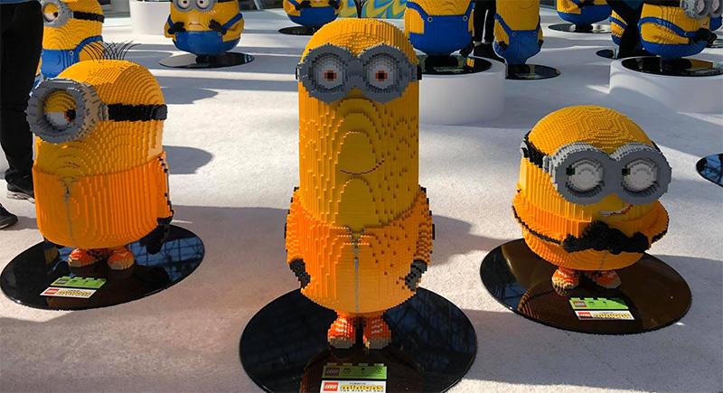 LEGO Minions take over New York Toy Fair 2020