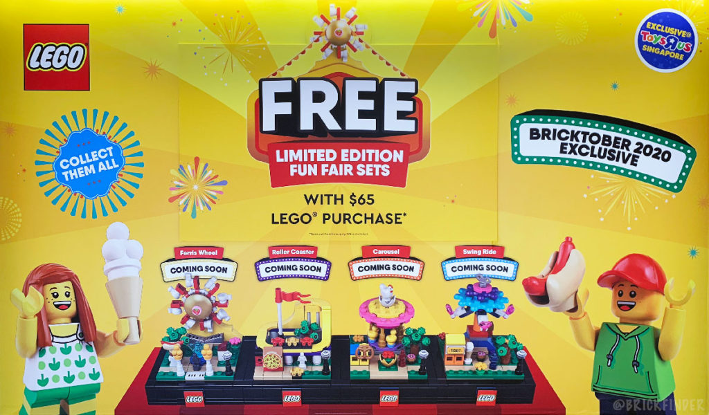 Lego Bricktober Toys 'R' Us Exclusive Year 2020