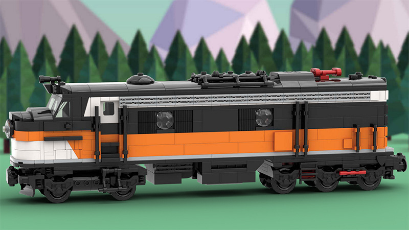 LEGO Train Projects Featured
