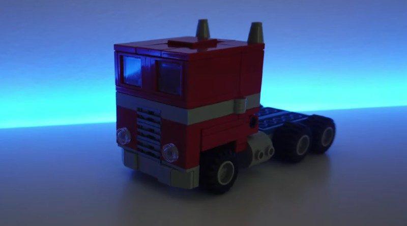 LEGO Transformer featured