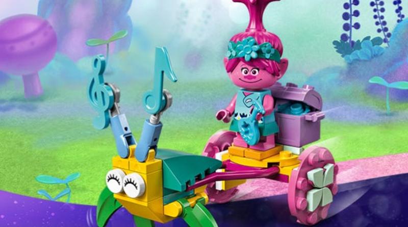LEGO Trolls World Tour 30555 Poppys Carriage featured