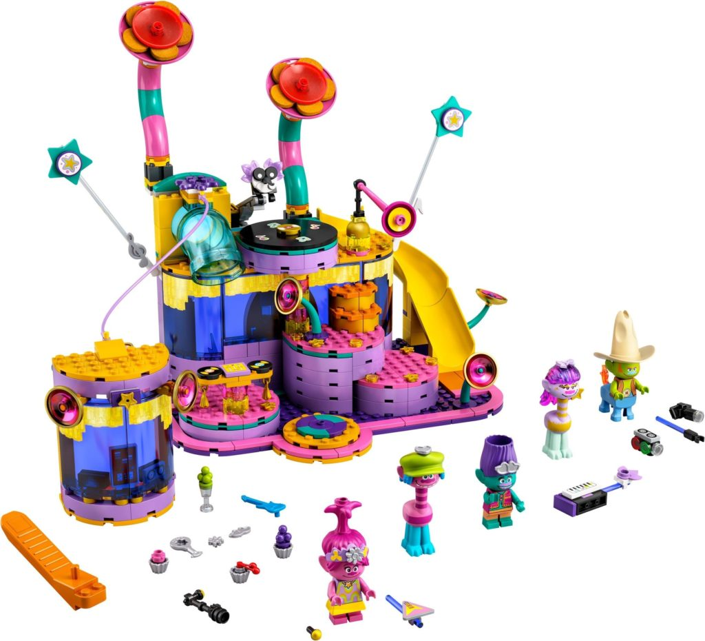 LEGO Trolls World Tour 41258 Vibe City Concert 1
