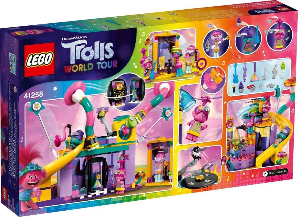 LEGO Trolls World Tour 41258 Vibe City Concert 10