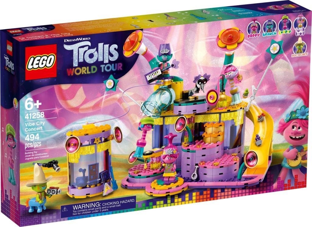 LEGO Trolls World Tour 41258 Vibe City Concert 2