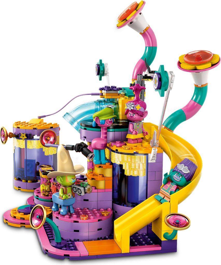 LEGO Trolls World Tour 41258 Vibe City Concert 7