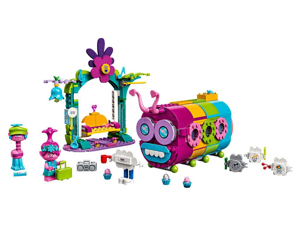LEGO Trolls World Tour Rainbow Caterbus 1