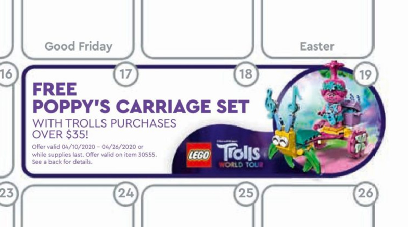 LEGO Trolls World Tour deal