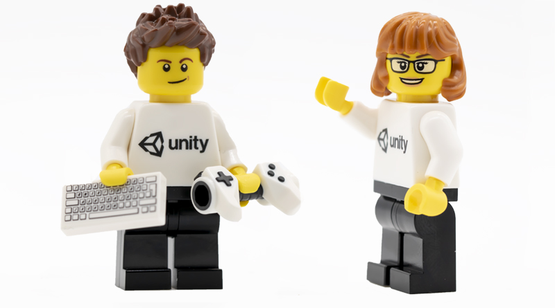 LEGO UNITY MINIFIGURE FEATURED