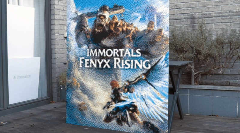 LEGO Ubisoft Immortals Fenyx Rising Featured