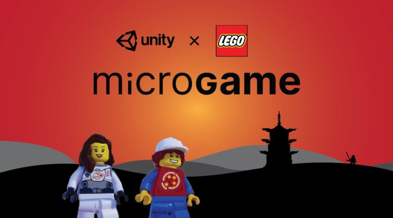 LEGO Unity NINJAGO Microgame contest featured