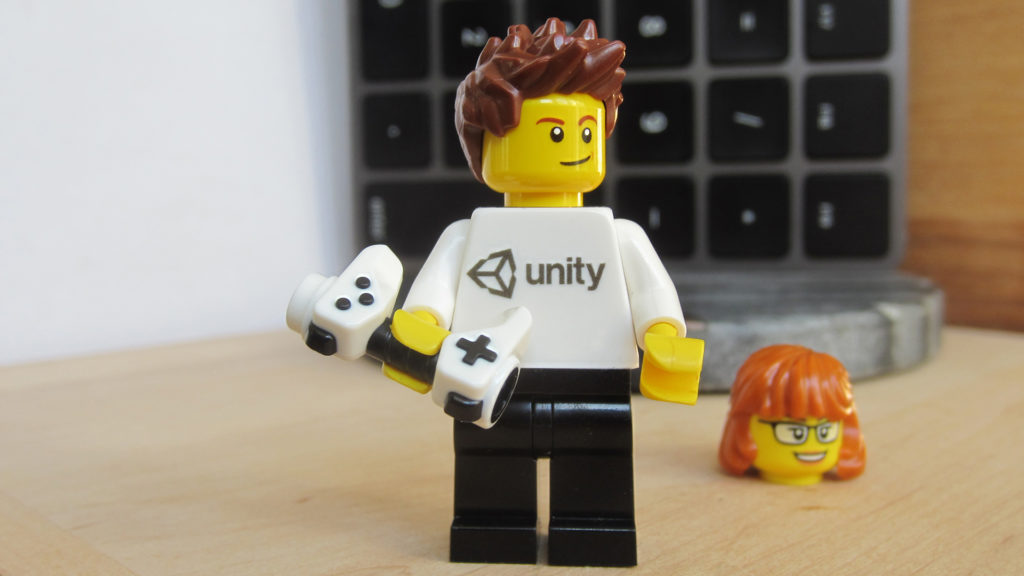 LEGO Unity Minifigure 1