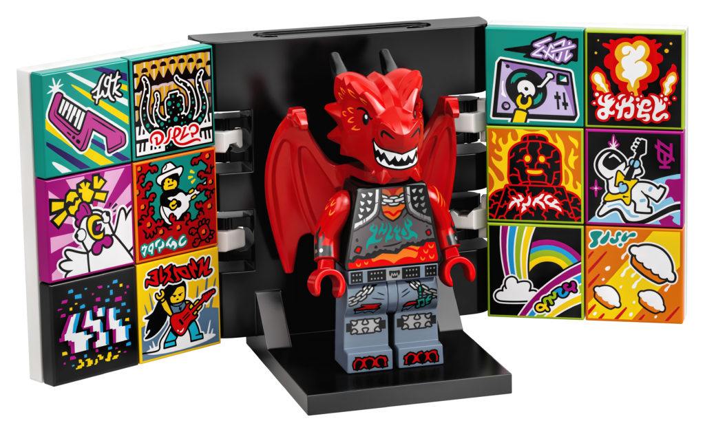 LEGO VIDIYO 43109 Metal Dragon BeatBox 1